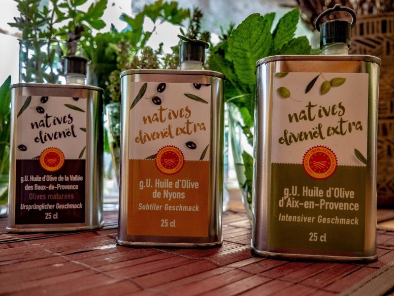 huile d'olive olivenoel frankreich