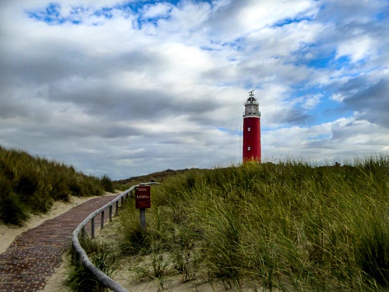 Leuchtturm Texel Meer