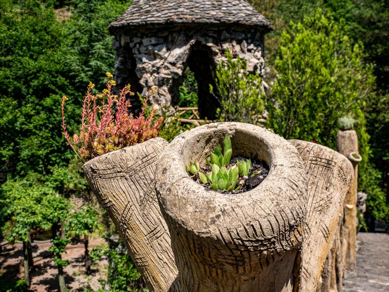 jardins artigas el poblet de lillet detail