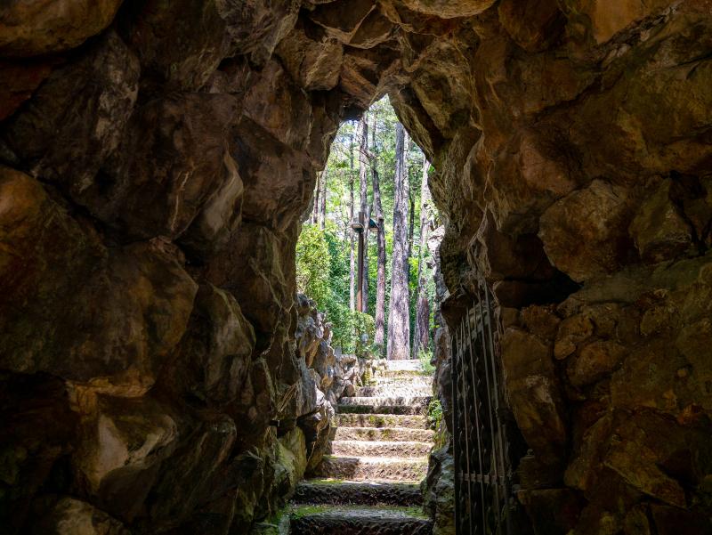 grotte jardins artigas el poblet de lillet