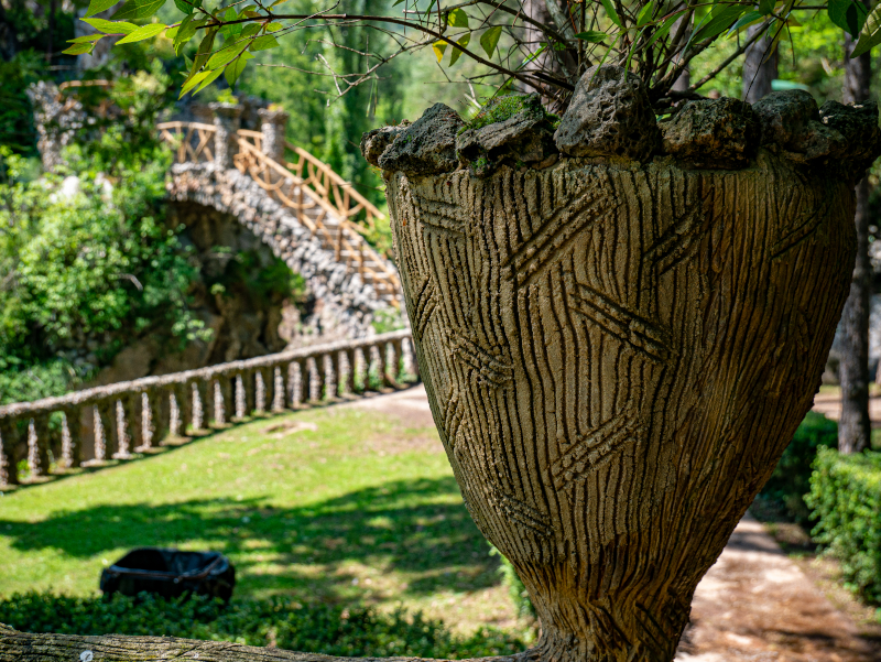 jardins artigas el poblet de lillet