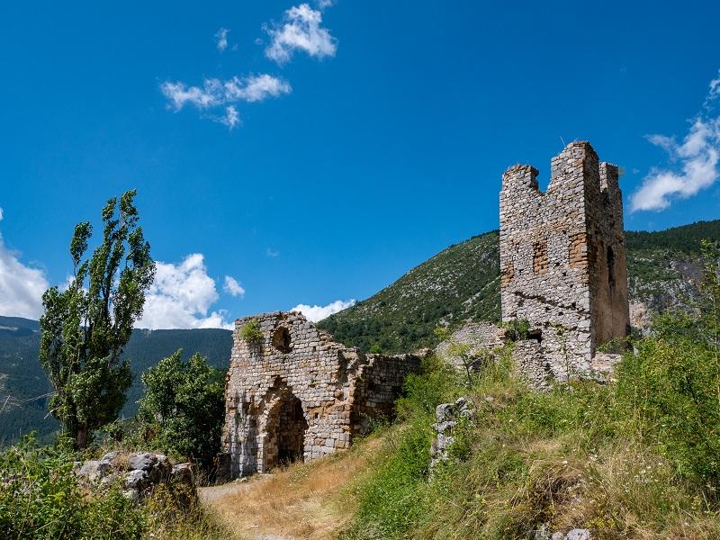 Burg Gósol Castell