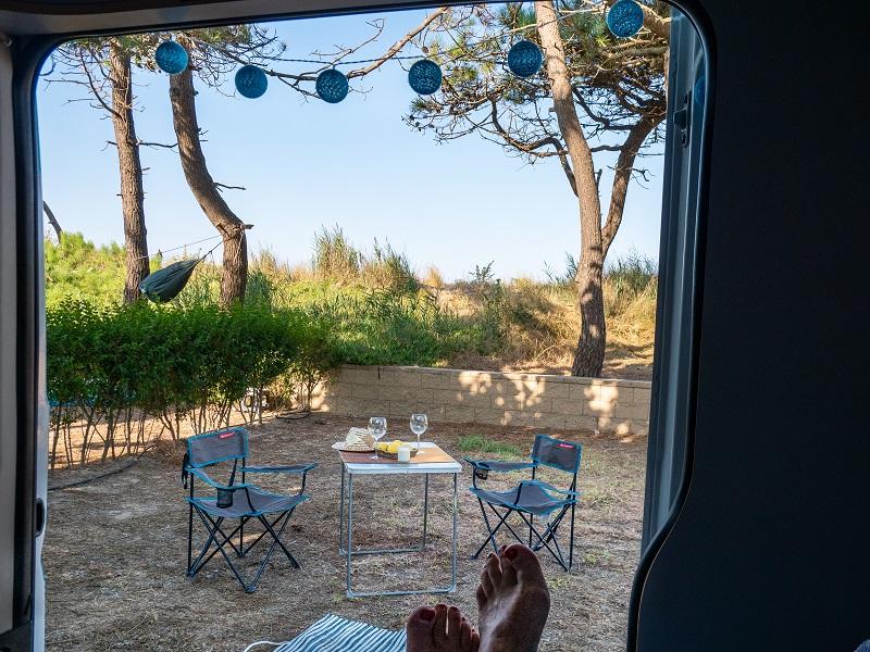 ballena alegre campingplatz
