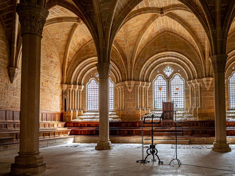 Kapitelsaal Kreuzgang Kloster Poblet