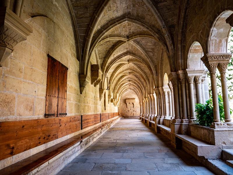 Kreuzgang Kloster Poblet