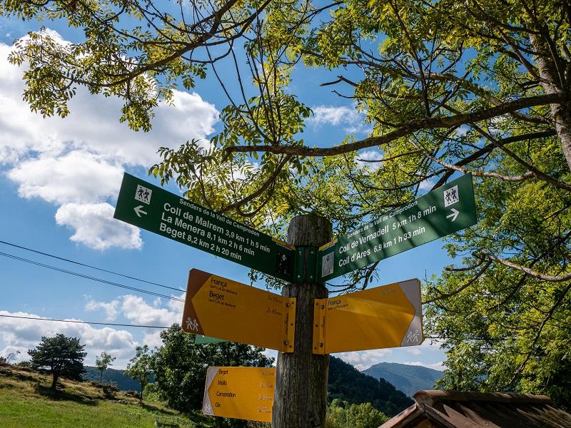 wandern Pyrenäen Rocabruna