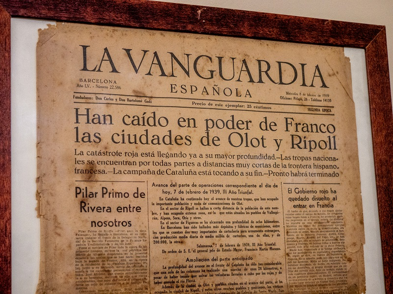 vanguardia Franco la Retirada