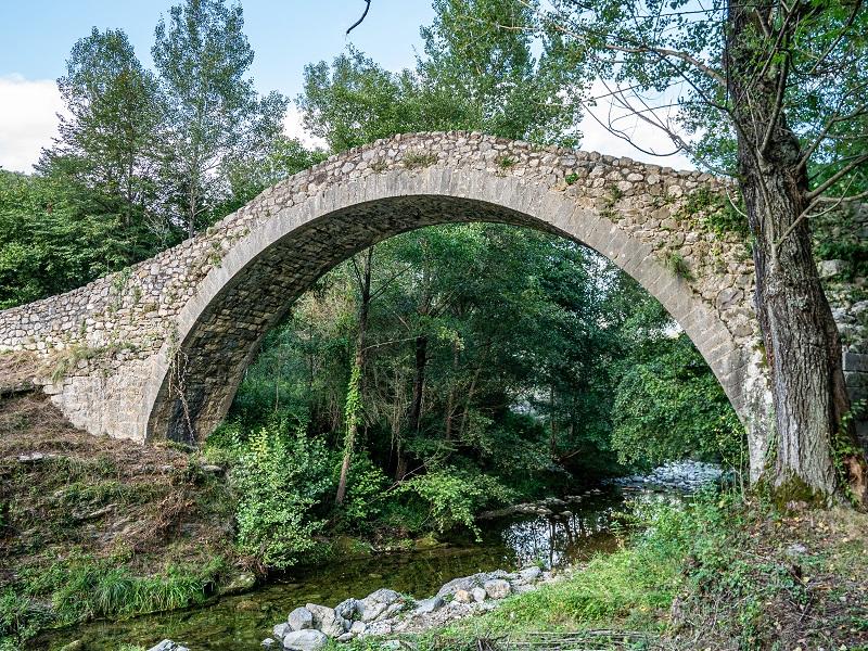 pont roma Oix