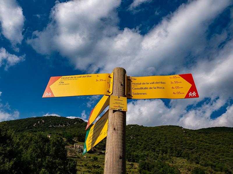 wanderwege alta Garrotxa