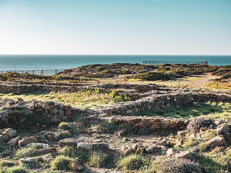 Algarve Ruinen ribat arrifana