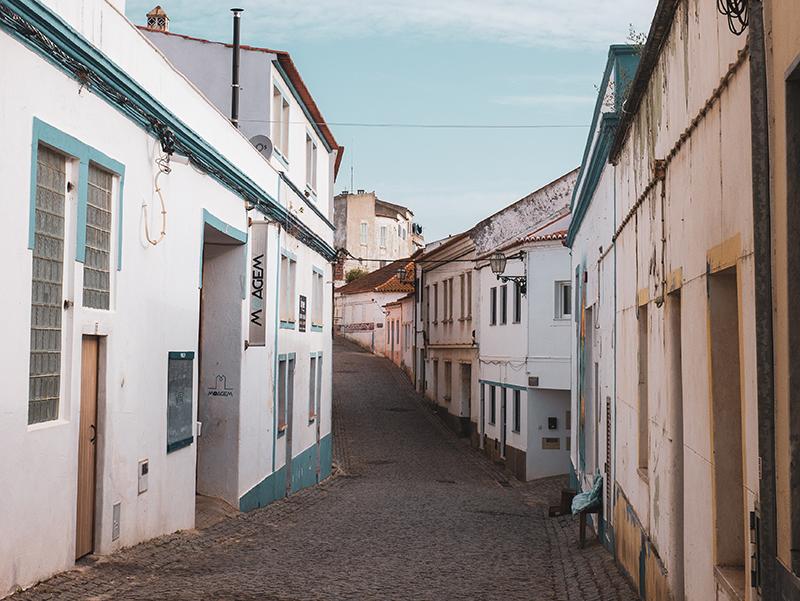 Aljezur gasse Algarve
