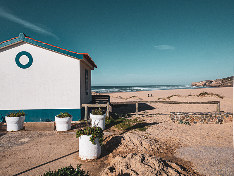 Praia Monte Clerigo Aljezur algarve