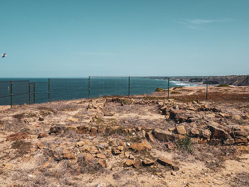 Ribat de Arrifana archaeologie Aljezur Algarve