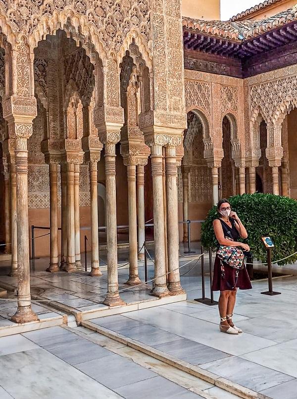 Alhambra Granada Patio leones