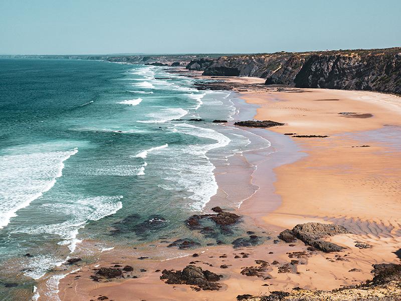 nahe Ribat Arrifana Praia Algarve Aljezur