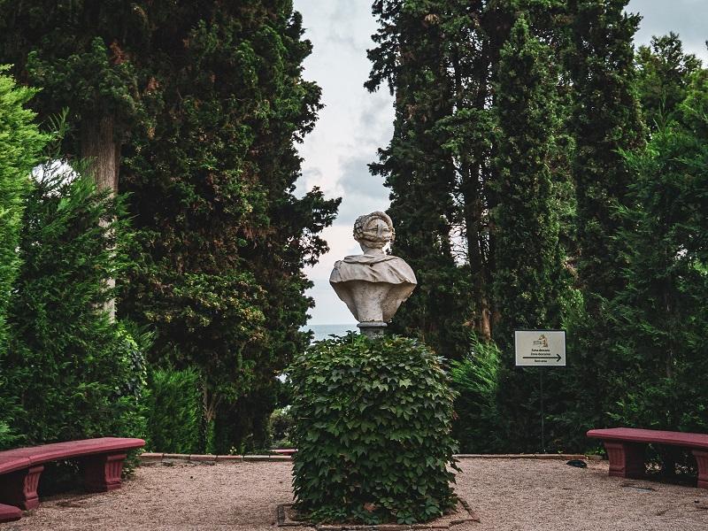 büste Jardins santa clotilde Lloret