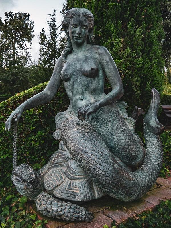 meerjungfrau santa clotilde Lloret