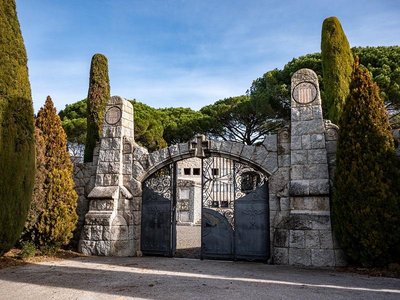 Friedhof cementiri cardedeu