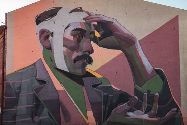 mural aryz street art cardedeu