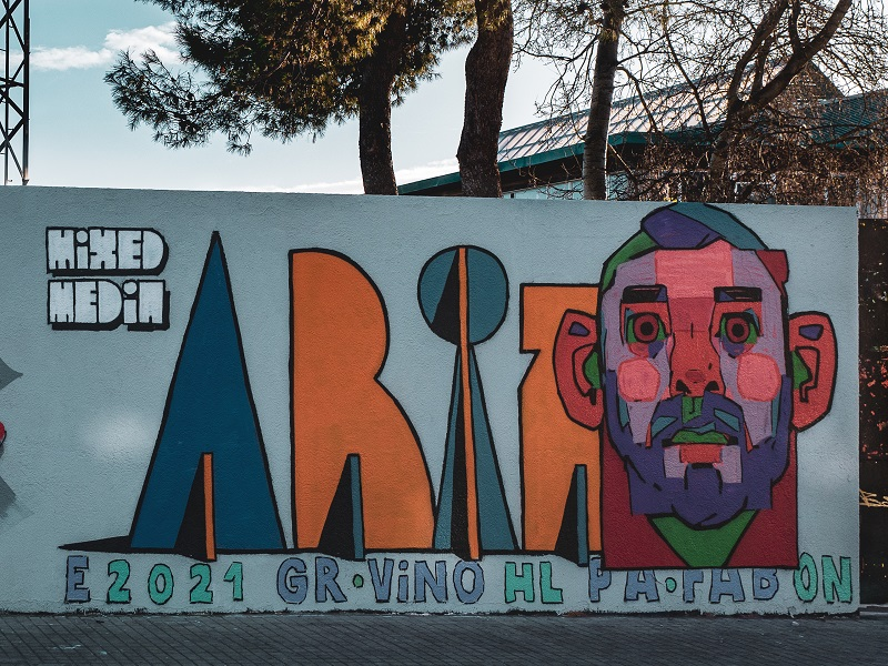 aryz street art cardedeu