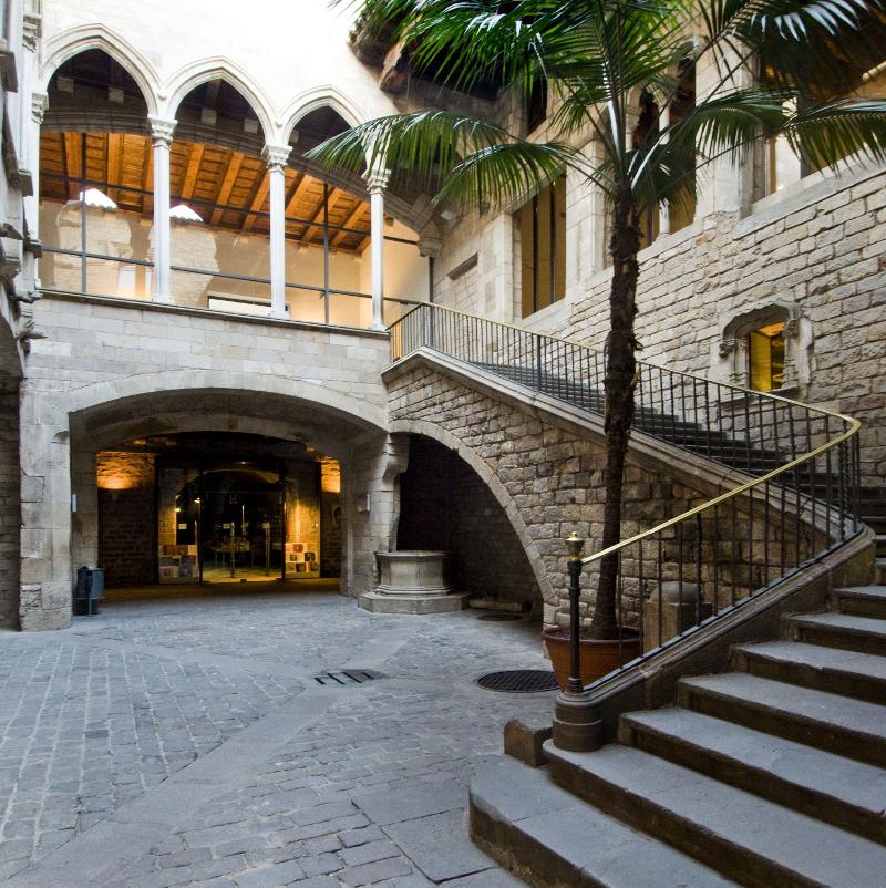 Palau Berenguer d'Aguilar 18/05/2009 Fotògraf: desconegut Museu Picasso, Barcelona
