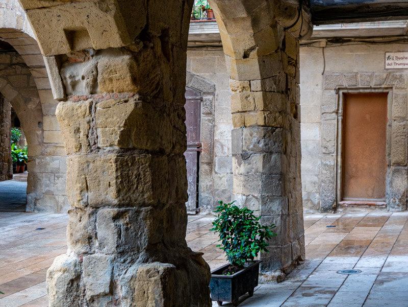 Horta de Sant Joan hostal del trompet picasso