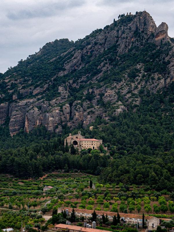 Horta de Sant Joan muntanya santa barbara