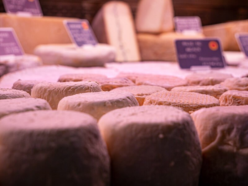 Markt Nay Béarn fromage