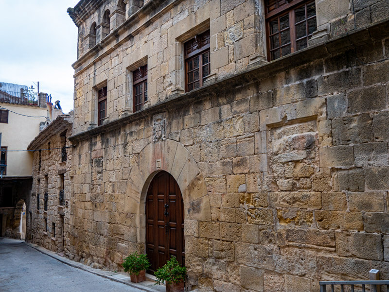 altes zollhaus in Horta de Sant Joan