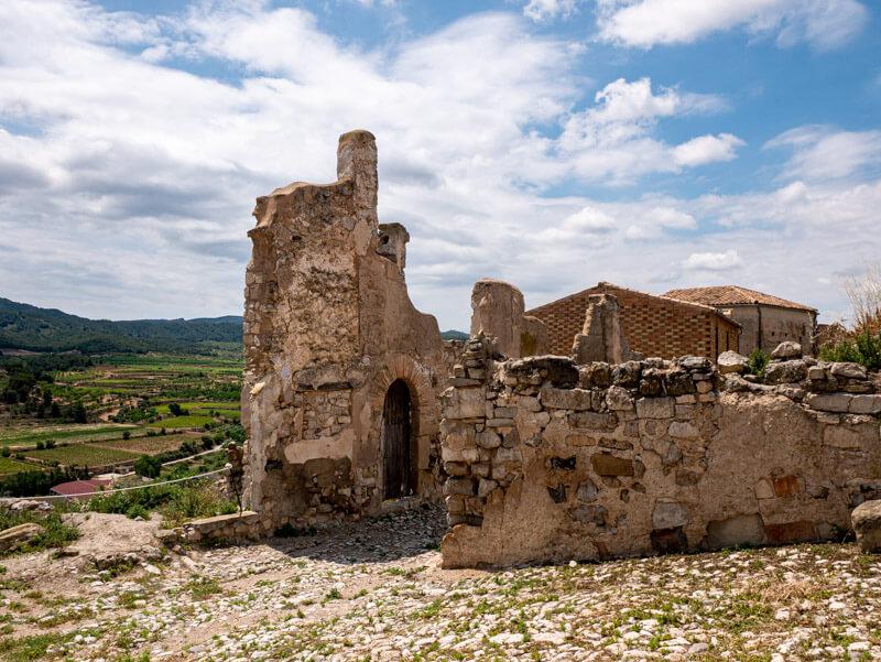 corbera del ebre ruinen