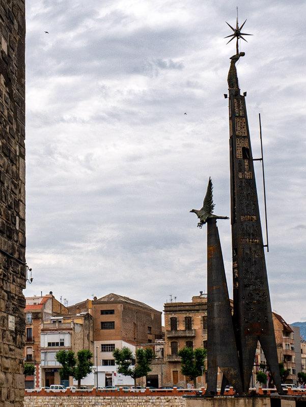 tortosa franco monument guerra cvivil