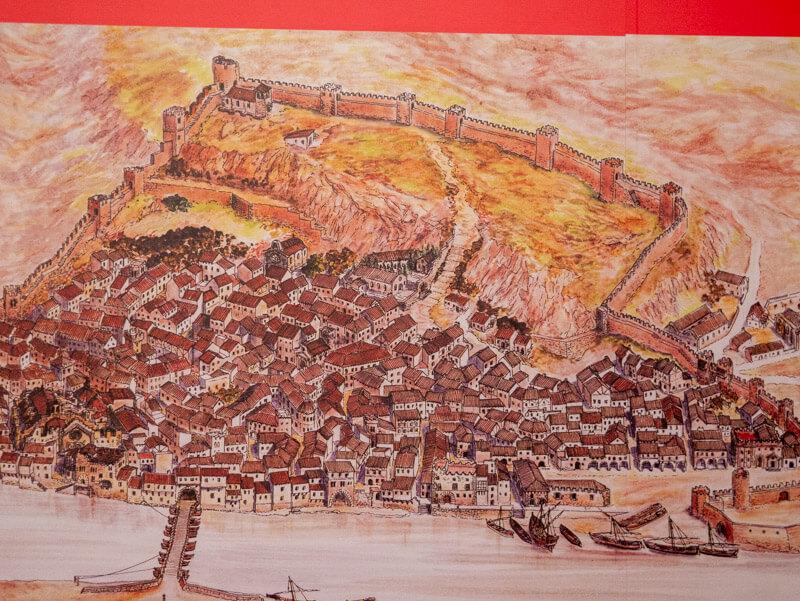 tortosa historischer stadtplan