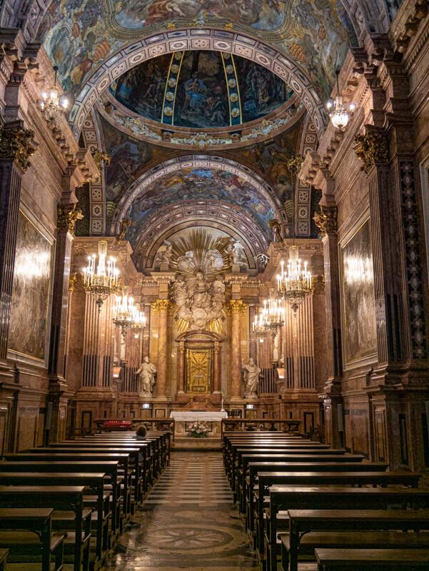 tortosa kathedrale kapelle virgen cinta