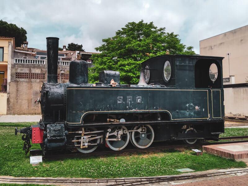 lokomotive via verda el carrilet II