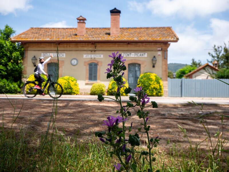 via verda el carrilet II Font Picant