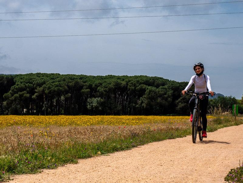 Fahrradtour via verda el carrilet II