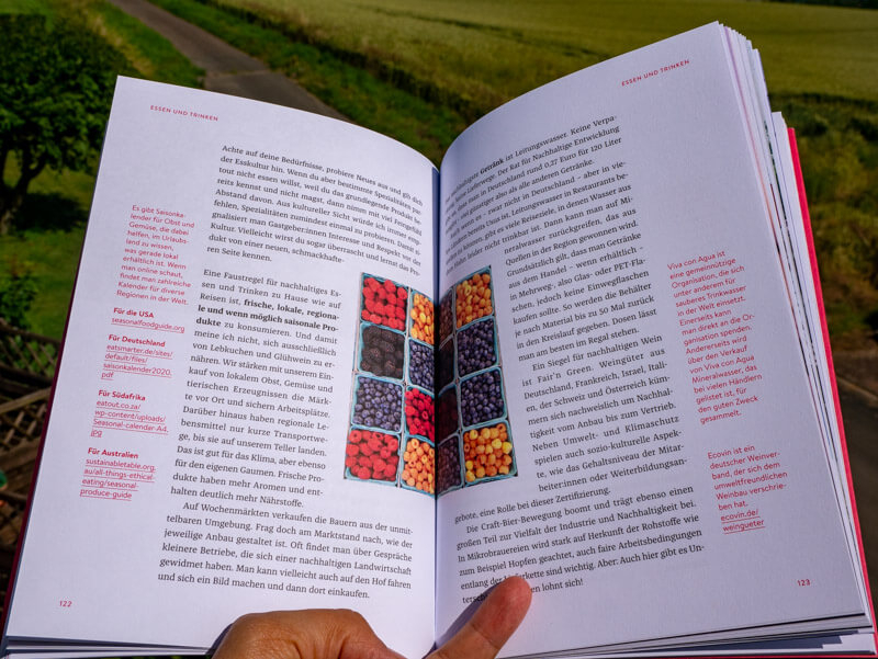HAndbuch nachhaltig reisen
