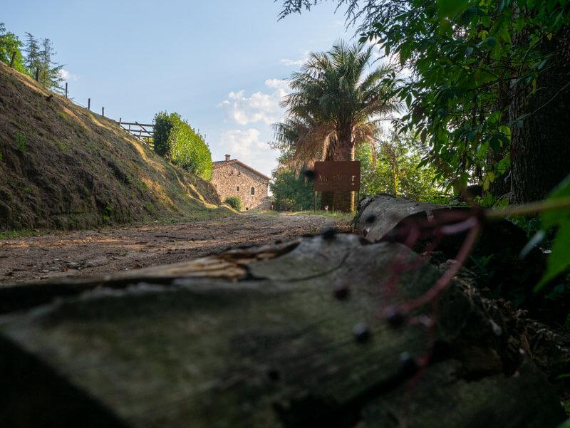 Montseny Unterkunft Mas Vilar alter Hof im Naturpark