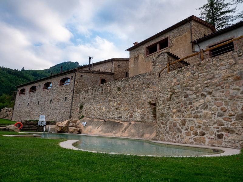 Montseny Unterkunft Mas Vilar mit Pool