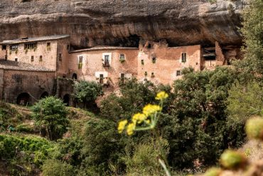 Felsenwohnung im Bages Puig de la balma