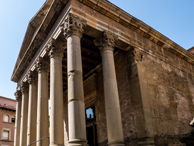 römischer Tempel Vic