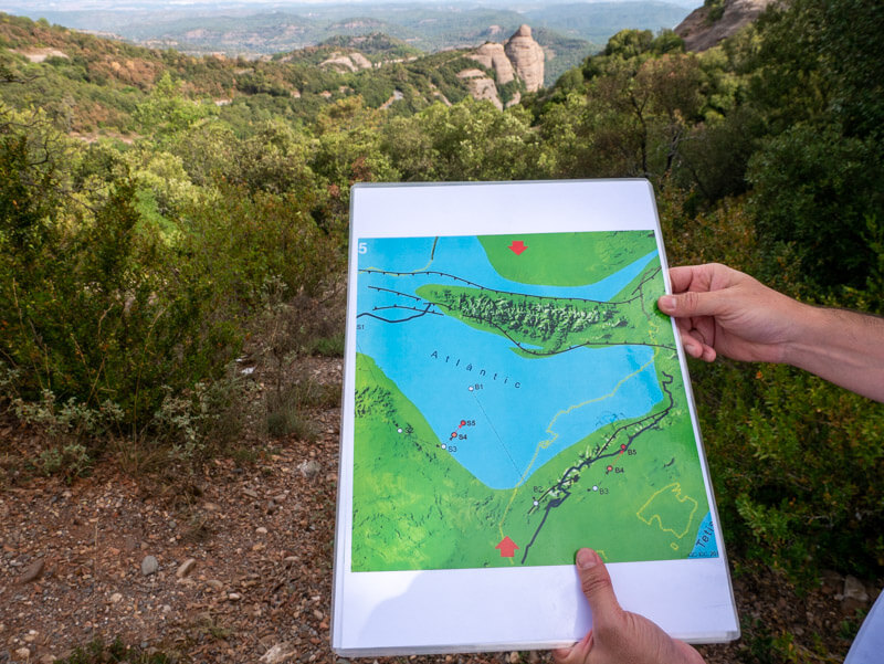 geoparc Naturpark Sant llorenc de munt i Obac