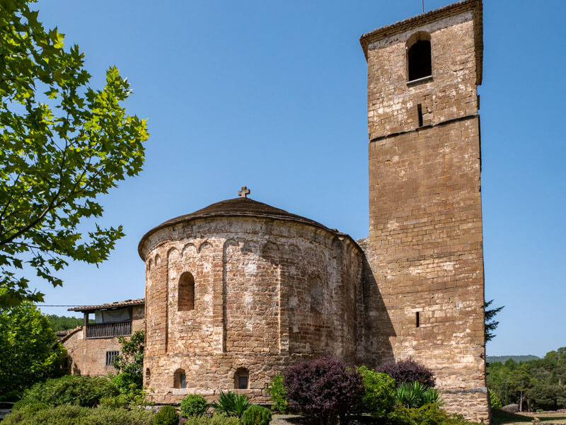 olius kirche Sant Esteve