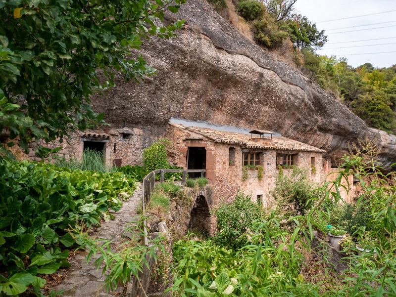 puig de la balma Mura Naturpark Felsen