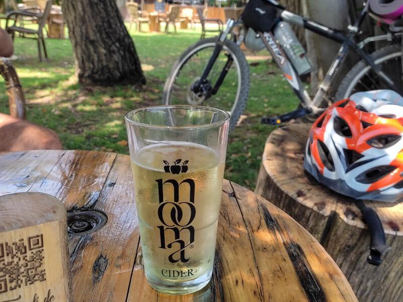 Mooms Radtour Katalonien