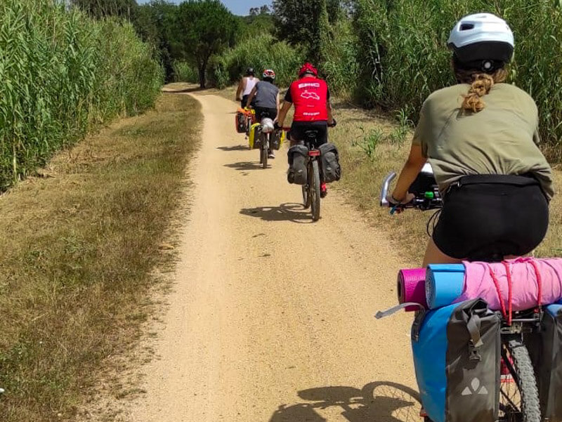 Radtour Katalonien