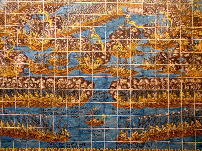 Mosaik kirche el roser valls Lepanto