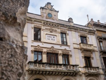rathaus Valls plaça del blat
