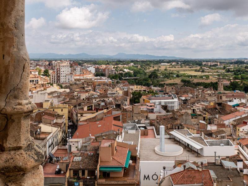 Aussicht Campanar Sant Joan baptista Valls