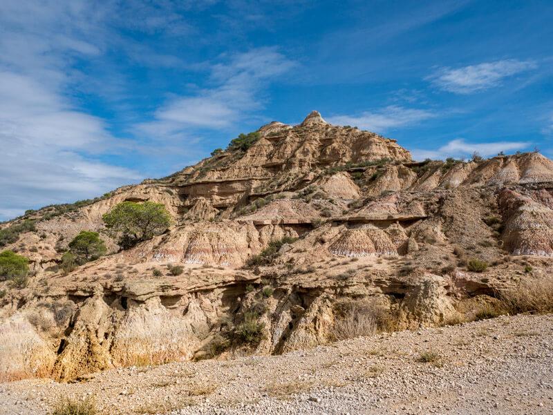 Ruta Jubierre Wandern Geologie landschaft